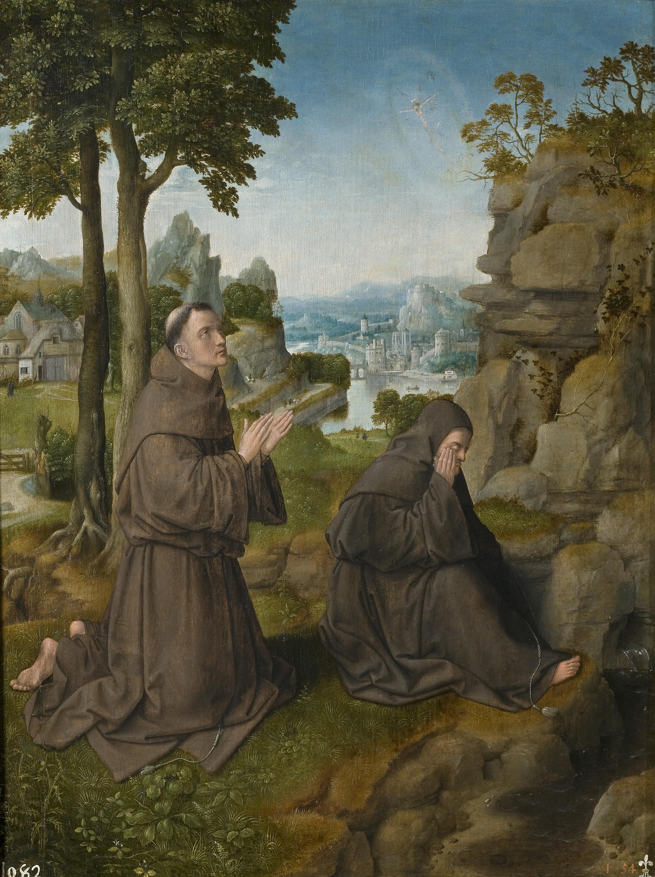Картинки по запросу san francisco de asís recibiendo los estigmas