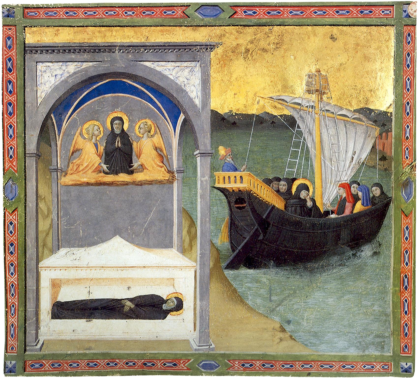 sepoltura-di-santa-monica-e-partenza-di-santo-agostino