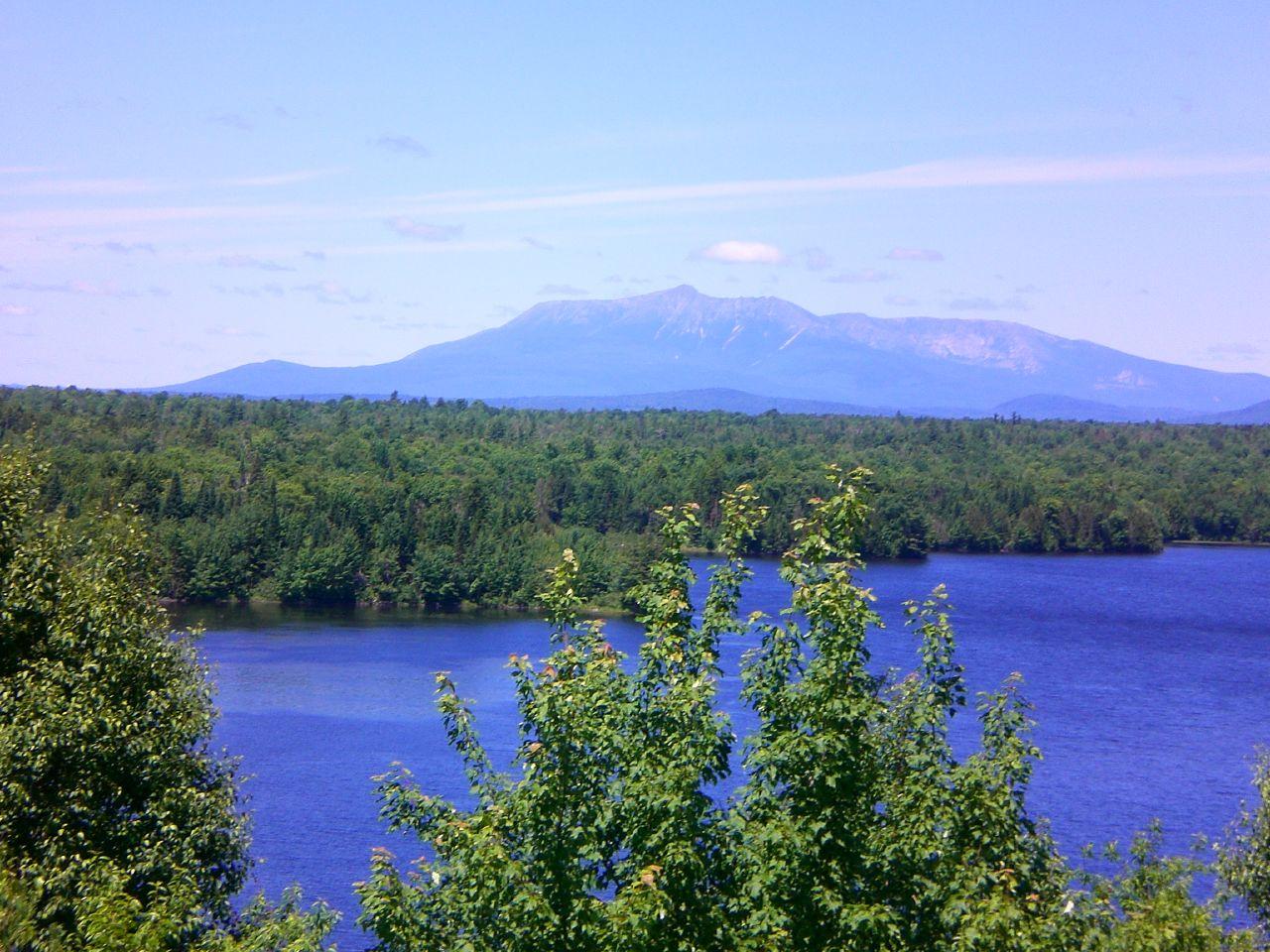 Digital Picture Image Photo JPEG Wallpaper Desktop Mountain Maine