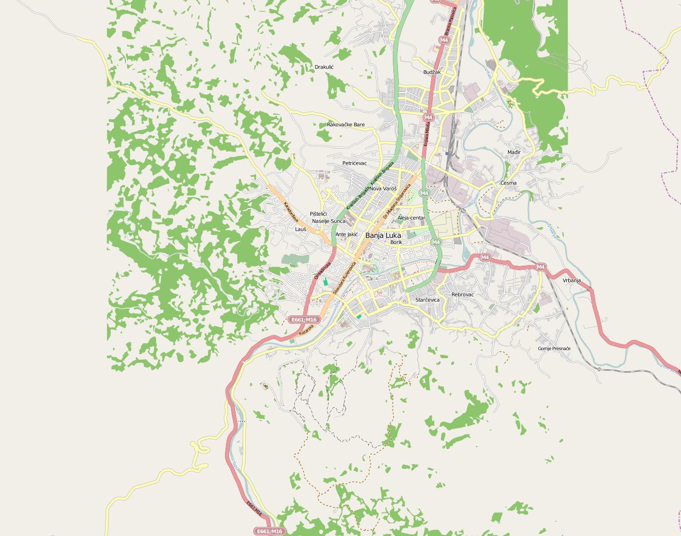 banja luka mapa Файл:Mapa položaja Banja Luka.png — Википедия banja luka mapa