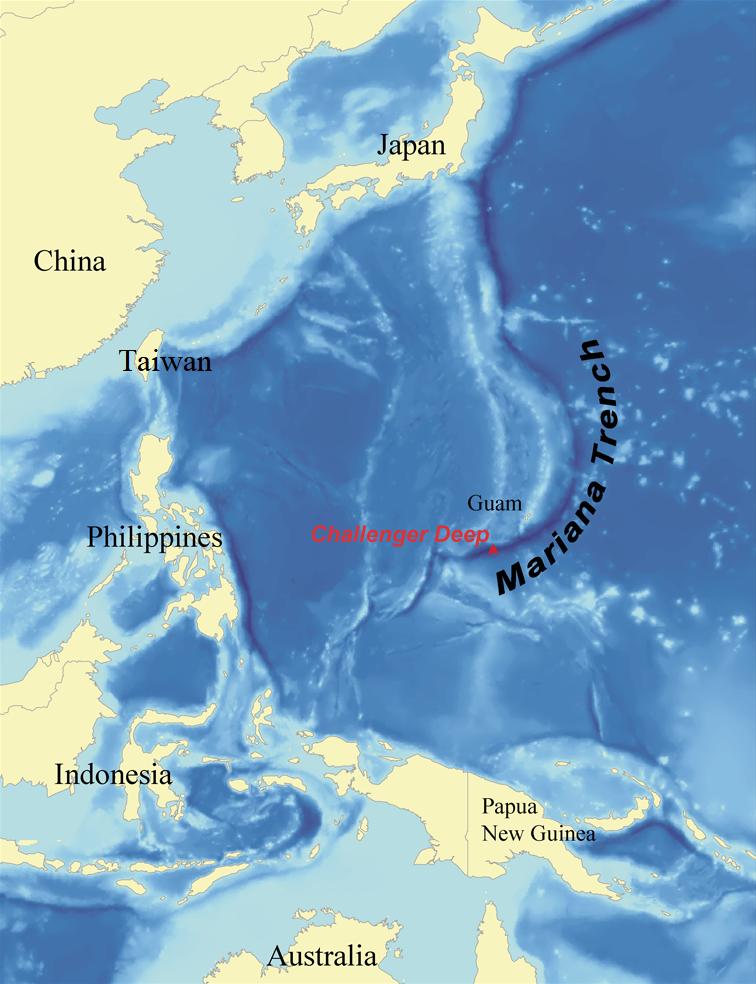 Las Fosas marinas mas profundas del Mundo