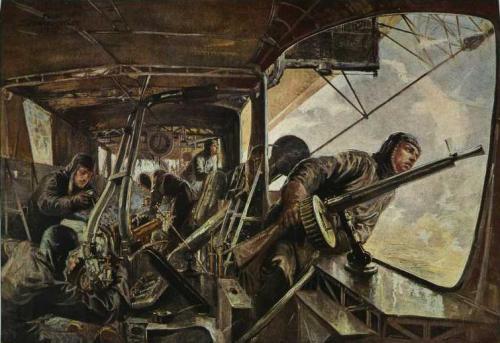 File Maschinengondel Eines Zeppelin Luftschiffes Felix
