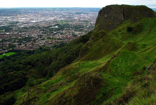 McArts Fort and Cave Hill Country park, Belfast - geograph.org.uk - 957637