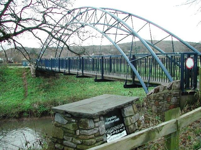 Millennium Bridge, Congresbury - geograph.org.uk - 98486