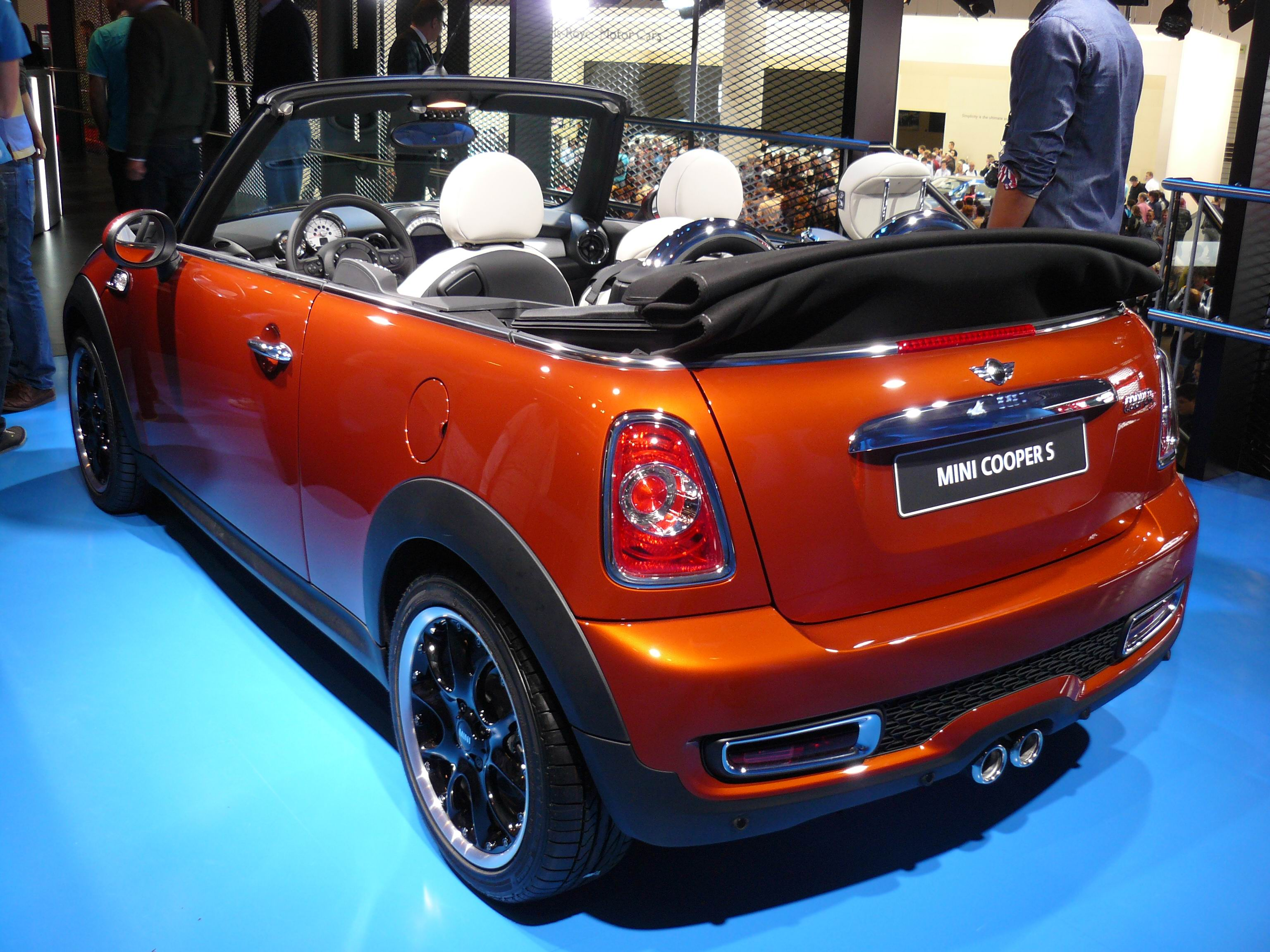 file mini cooper s cabrio jpg wikimedia commons. Black Bedroom Furniture Sets. Home Design Ideas