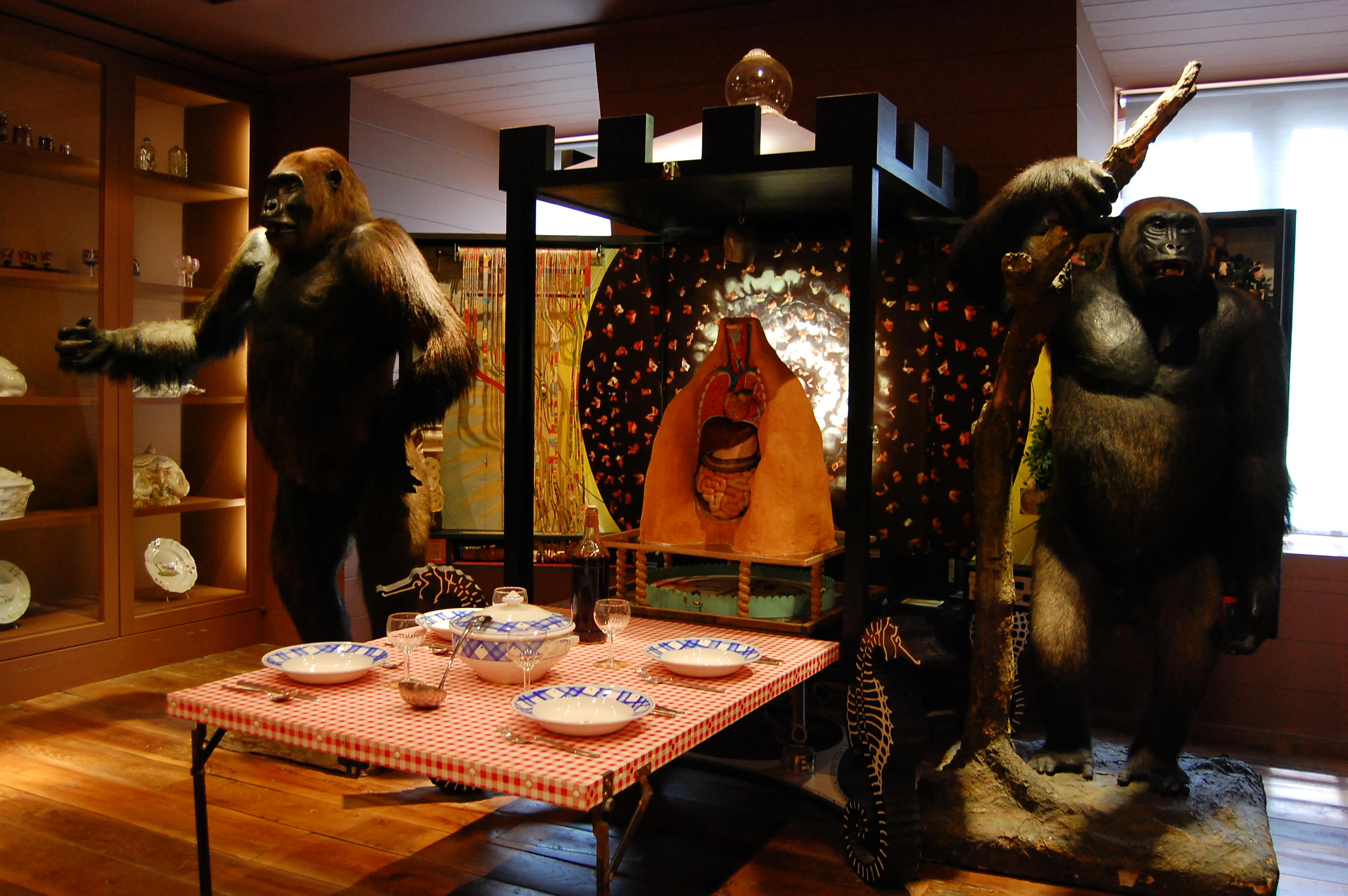 file mus e de la chasse et de la nature ape installation. Black Bedroom Furniture Sets. Home Design Ideas