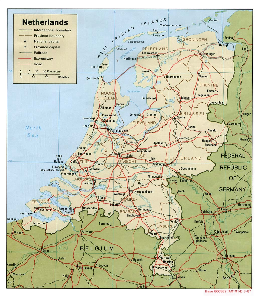 Geography of the European Netherlands Wikipedia