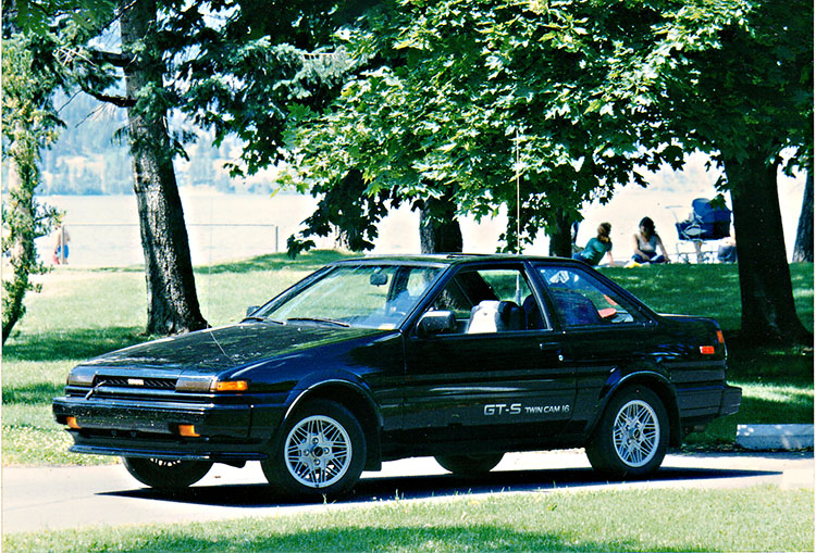 An example of a late 80's Toyota Sprinter - BE FORWARD