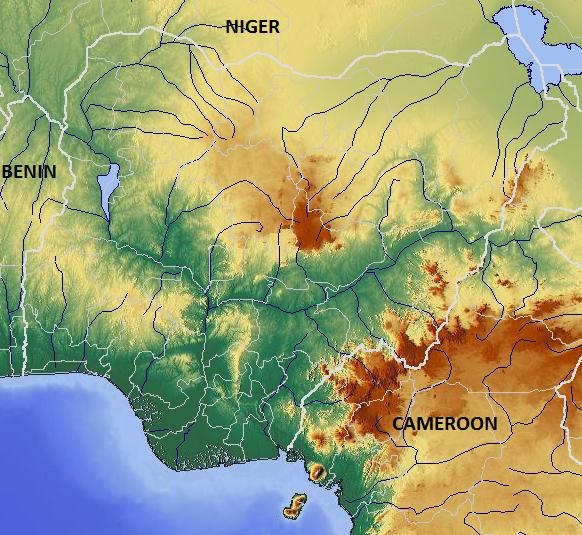 Filenigeria relief mapg wikimedia commons filenigeria relief mapg ccuart Choice Image