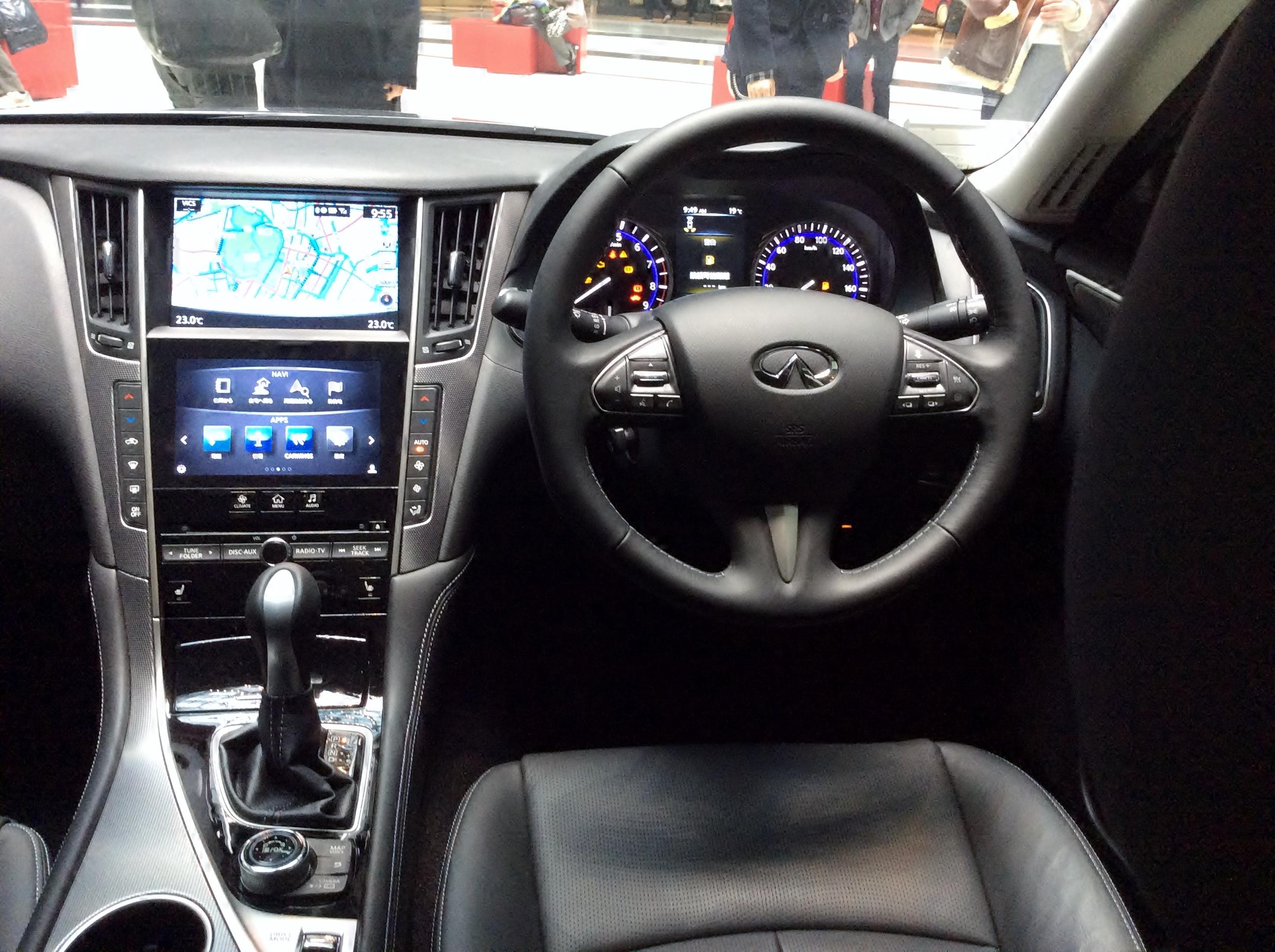 File Nissan Skyline 350gt Hybrid Type P Hv37 Interior