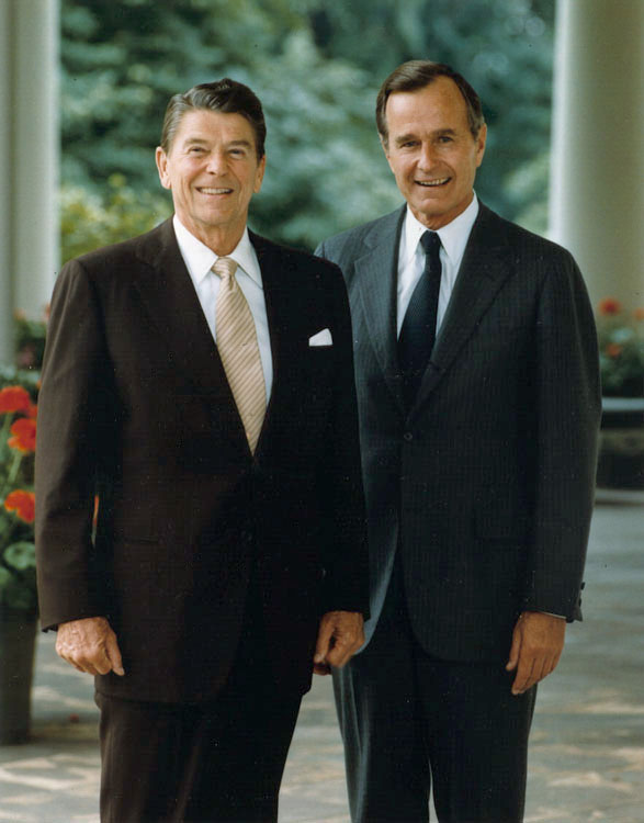 Official portrait of President Reagan and Vice President Bush 1981.jpg