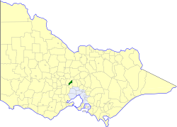Shire of Newham and Woodend Local government area in Victoria, Australia