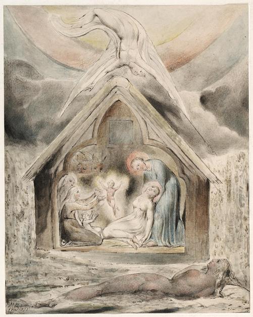 Art Advent Calendar: William Blake, The Descent of Peace