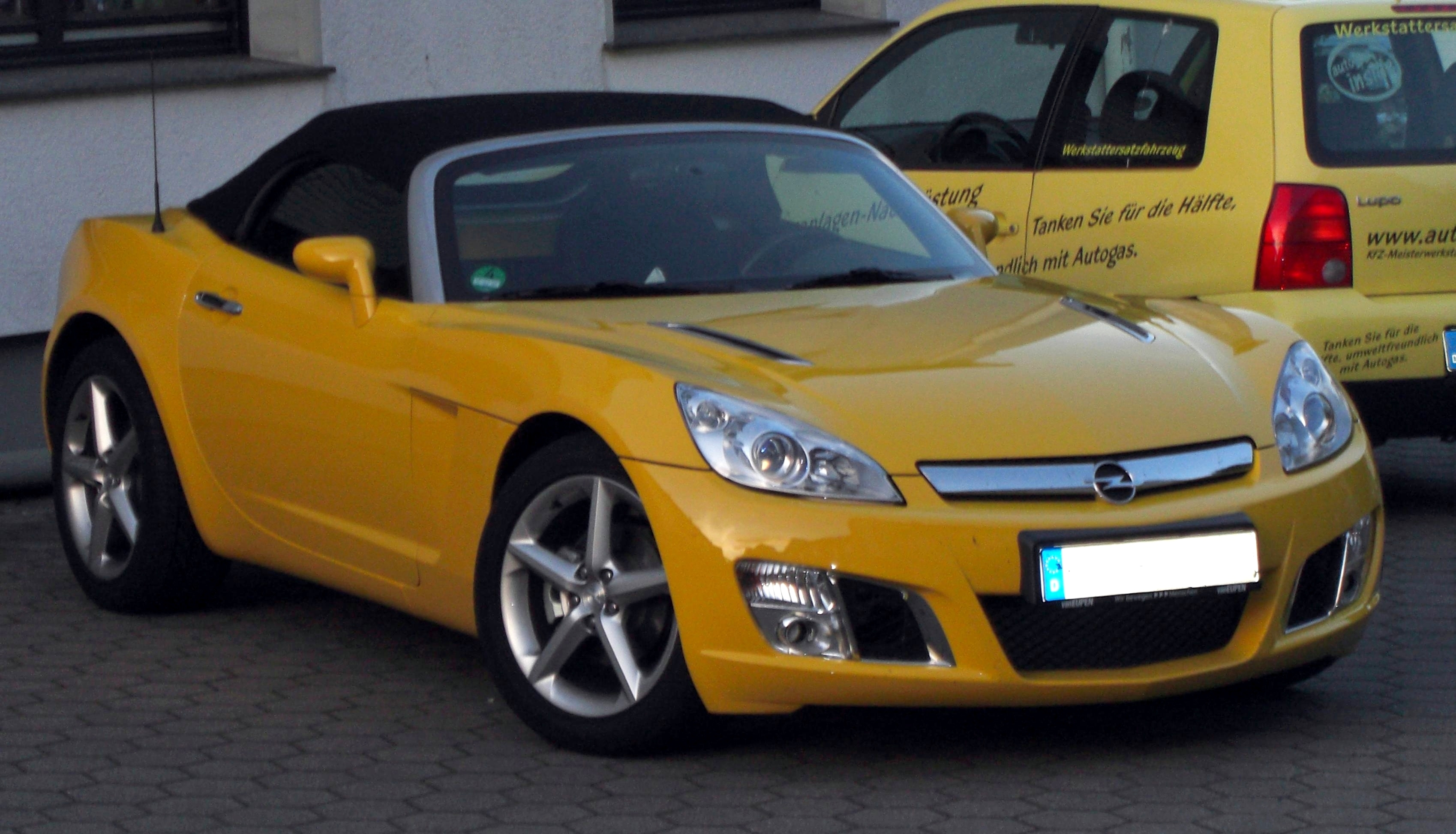 File:Opel GT Roadster front.jpg - Wikimedia Commons
