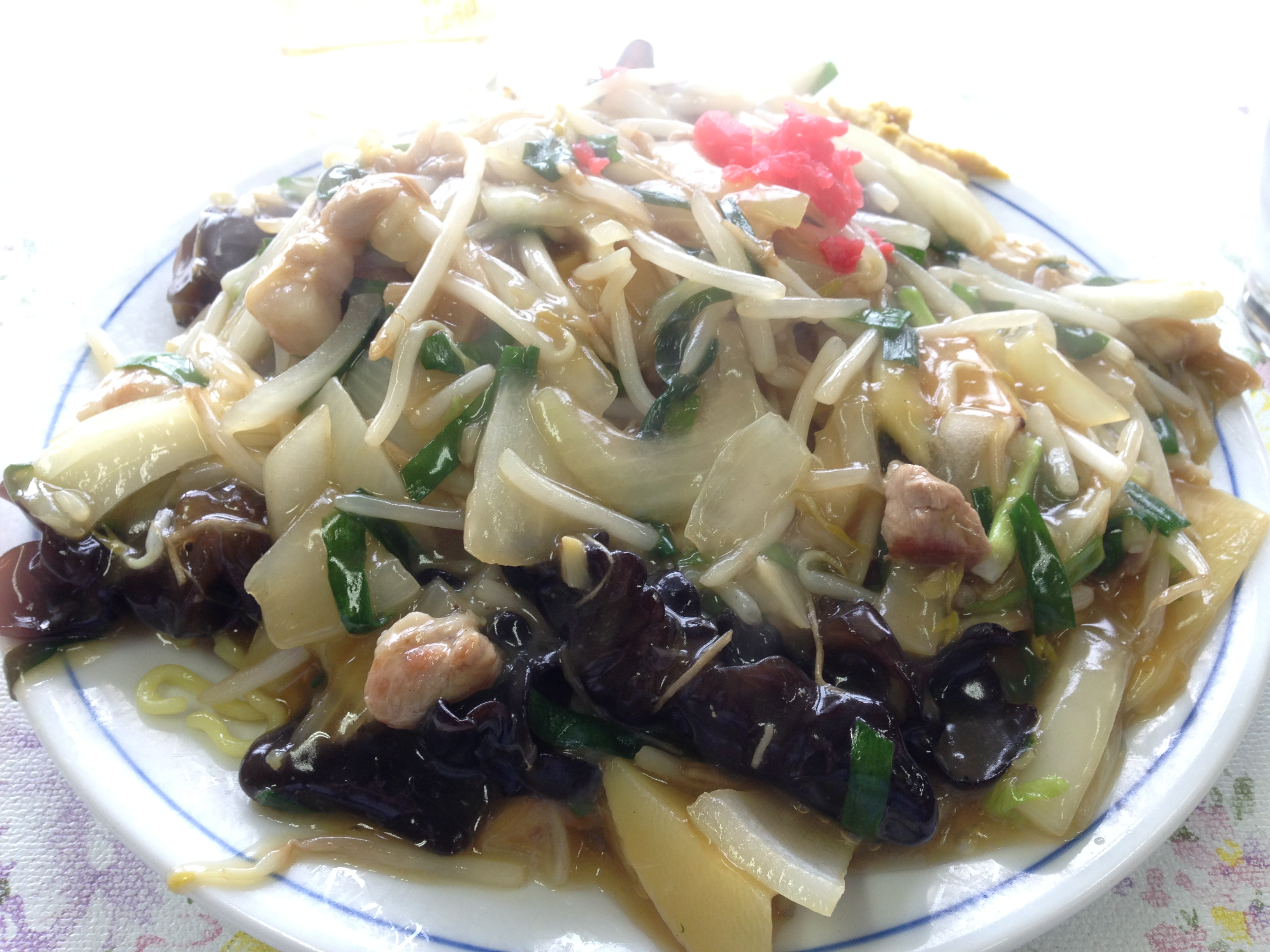 Image result for Ankake Yakisoba