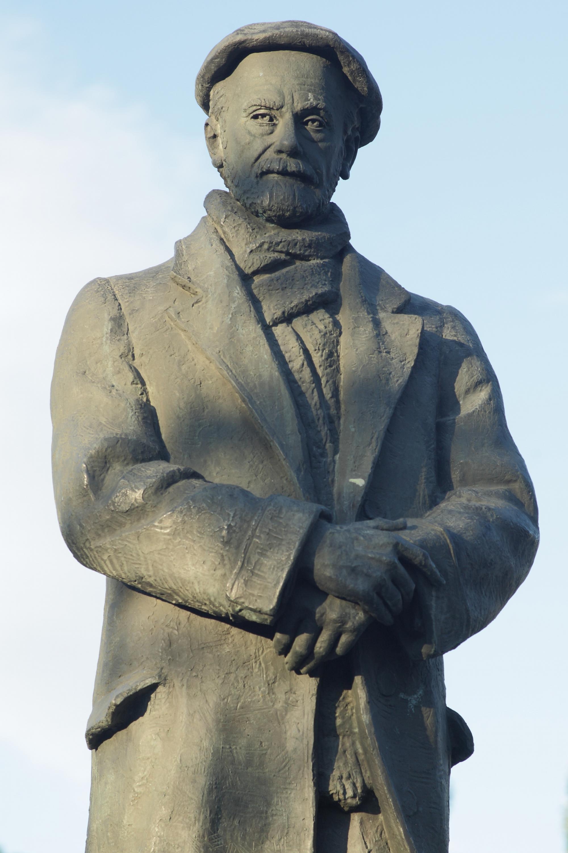 Escultura de Pío Baroja