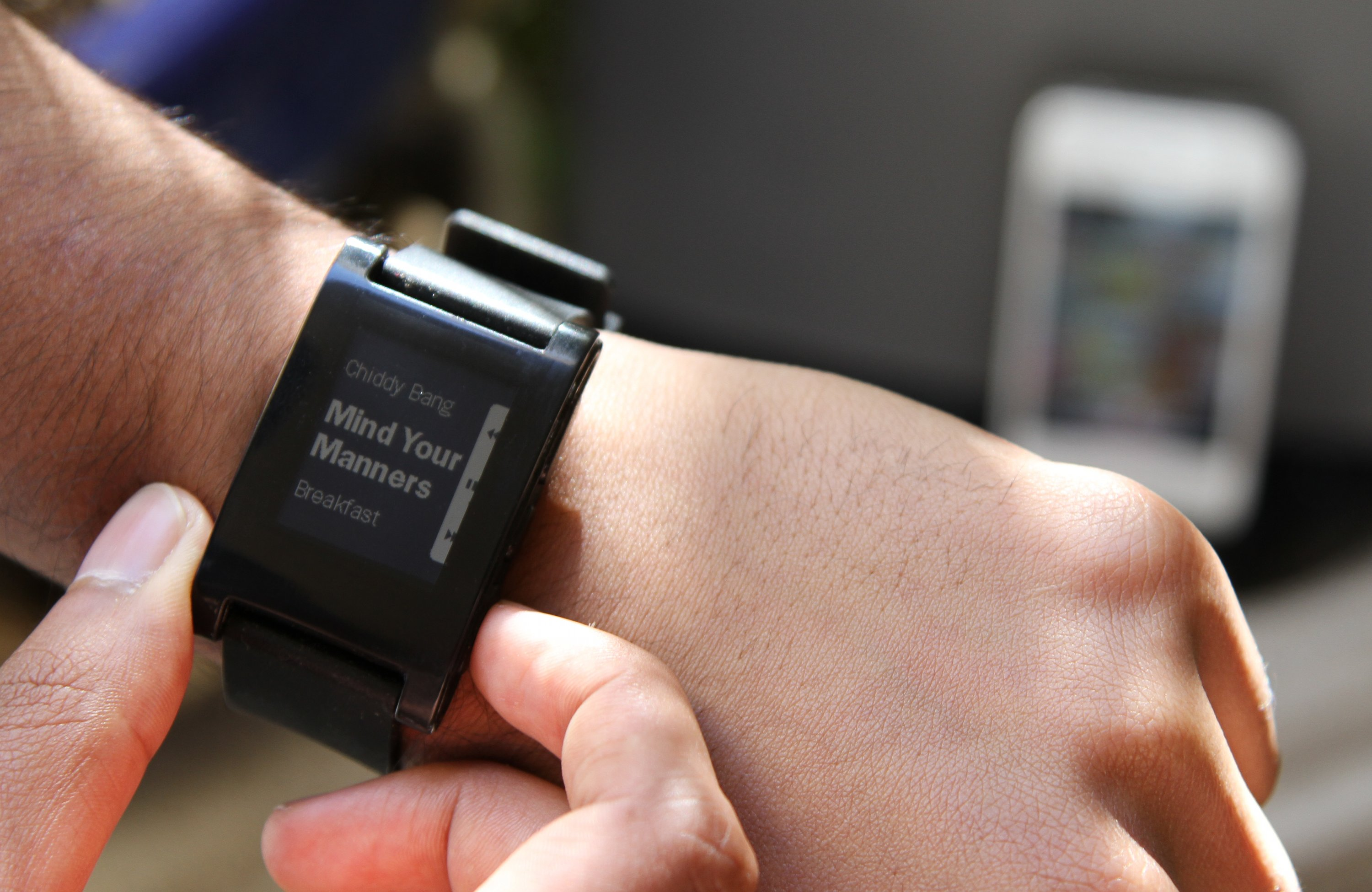 File pebble watch music wikimedia commons for Pebble watches