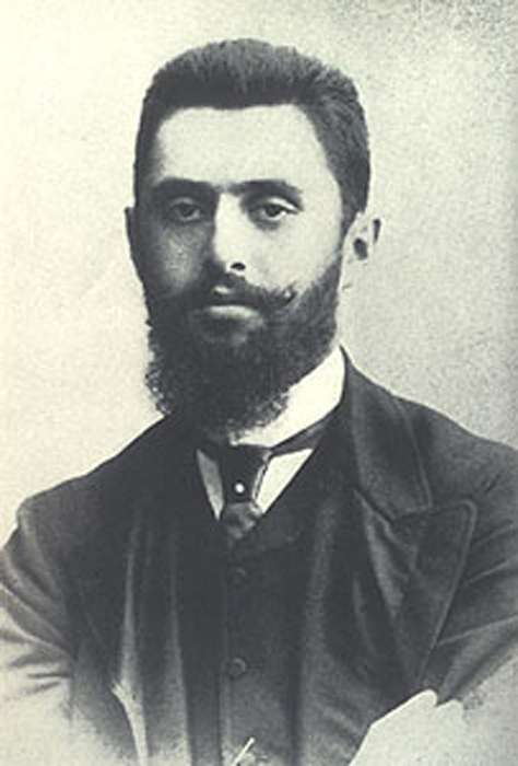 Image result for young Theodor Herzl