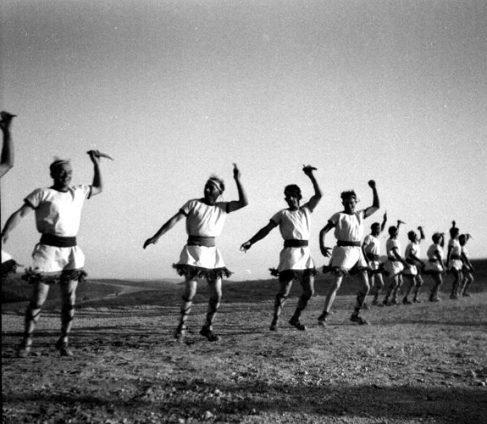 ריקוד הגברים