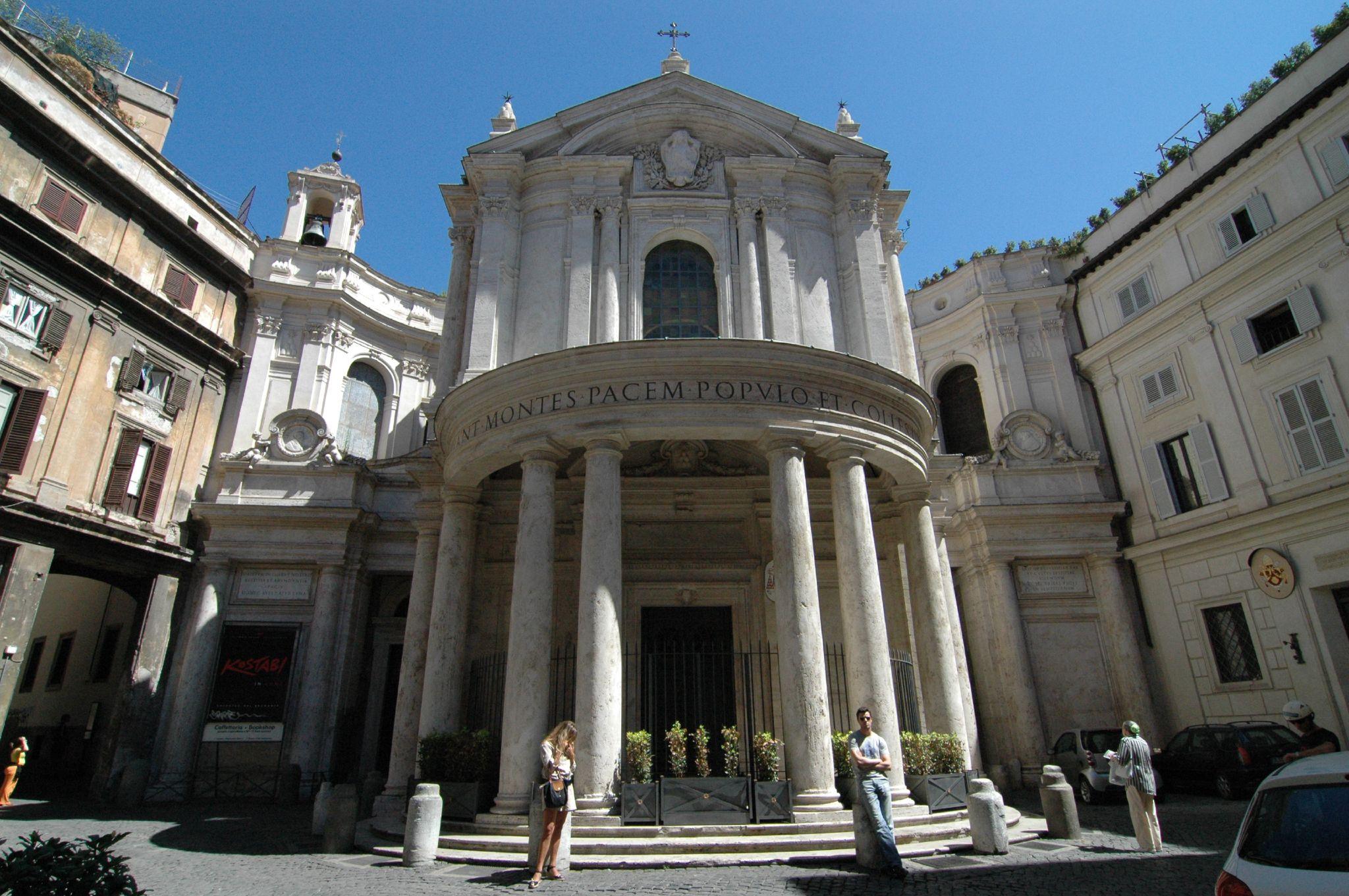 Santa Maria della Pace (Pietro da Cortona, 1656), em Roma