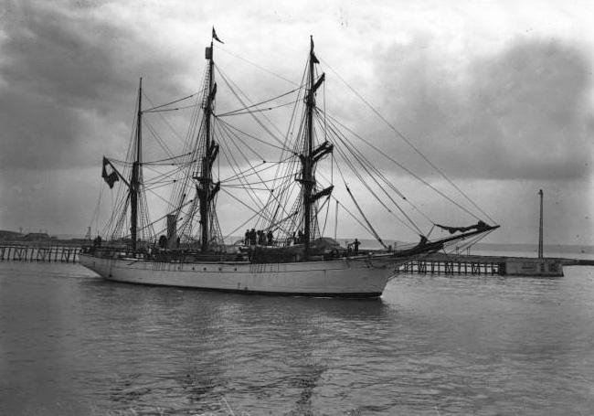 Le Pourquoi Pas ? IV au Havre (15 août 1908)