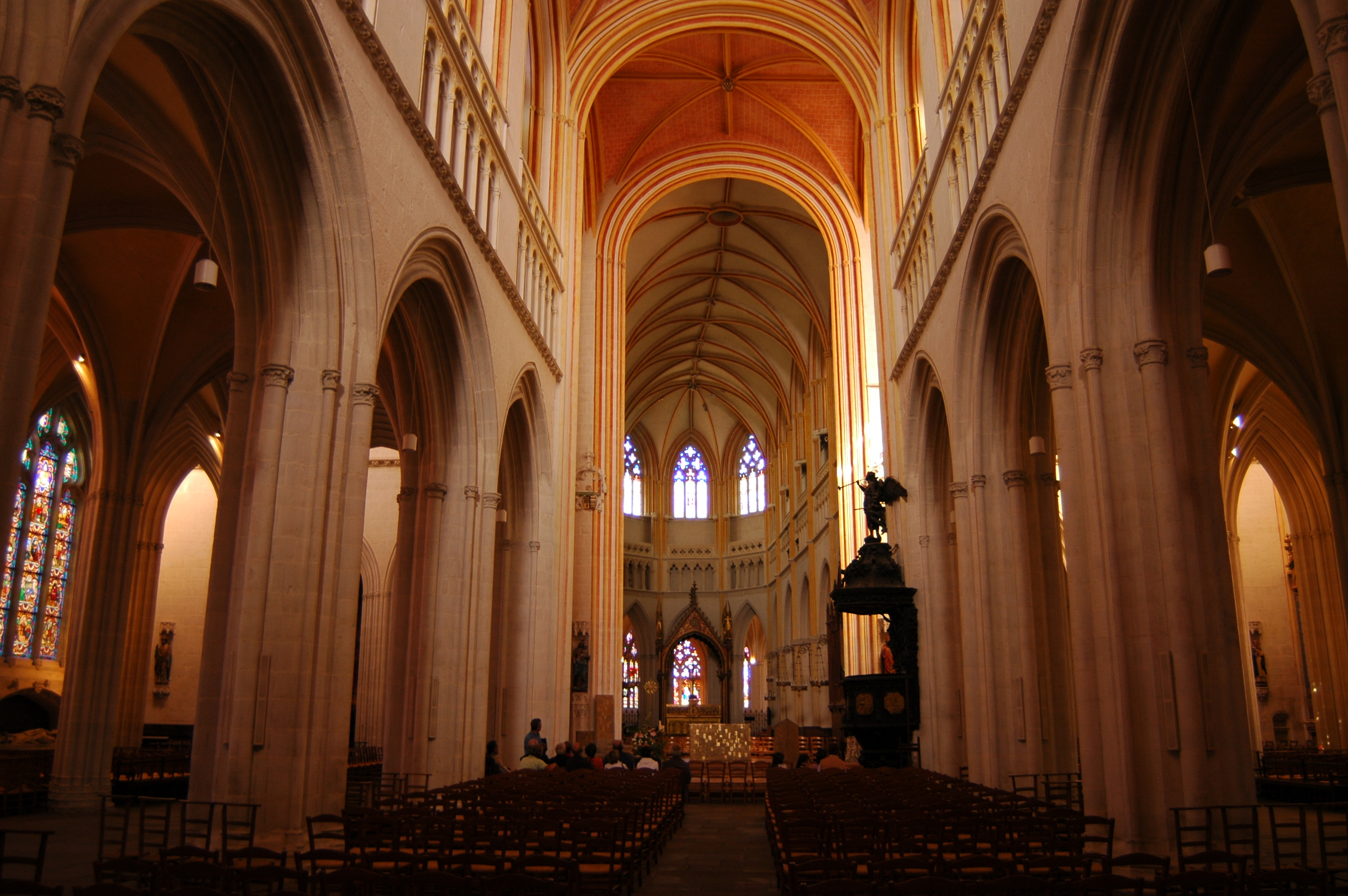 High Quality File:Quimper Saint Corentin Intérieur