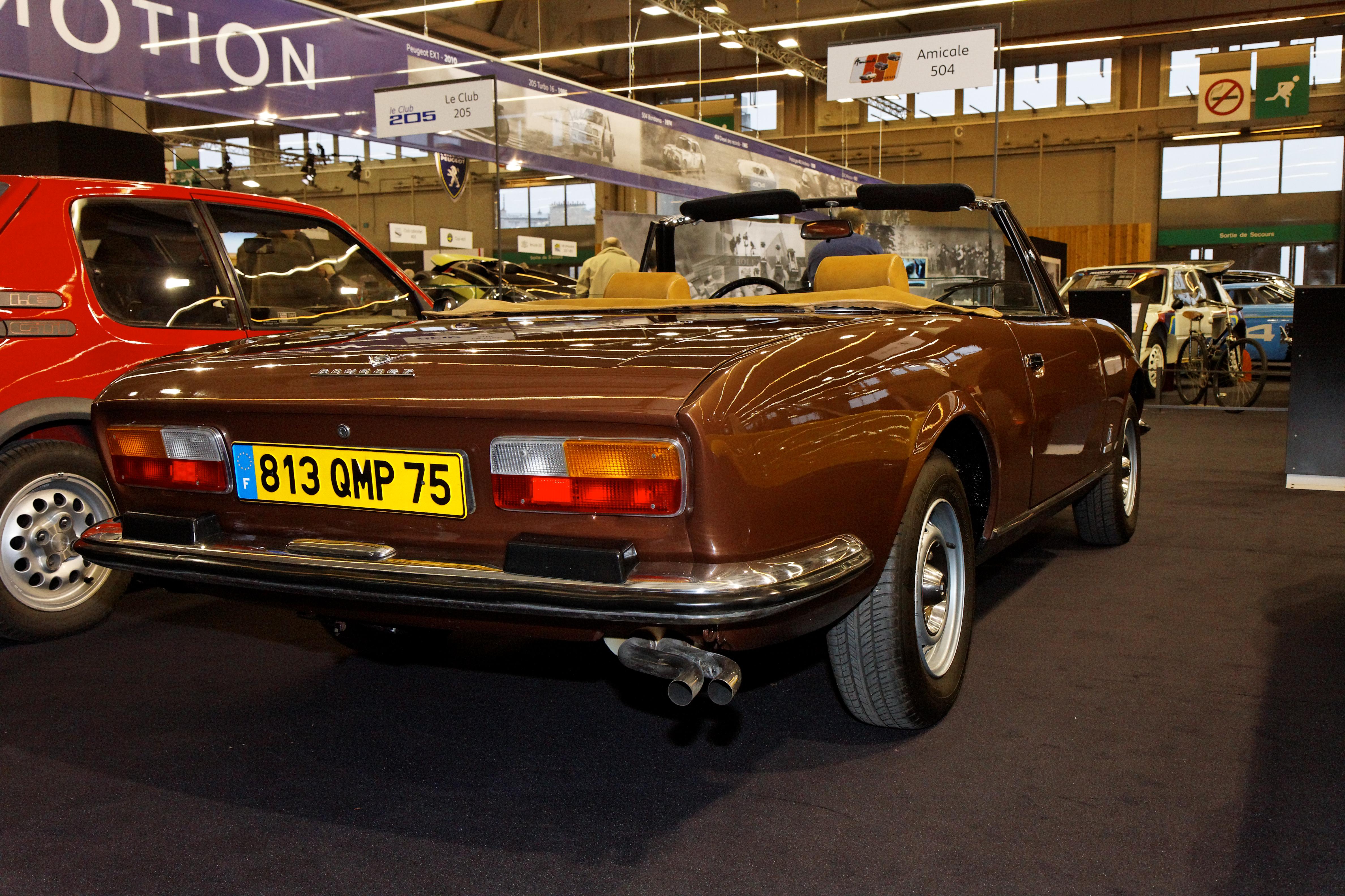 File Retromobile 2011 Peugeot 504 V6 Cabriolet 1977 006 Jpg