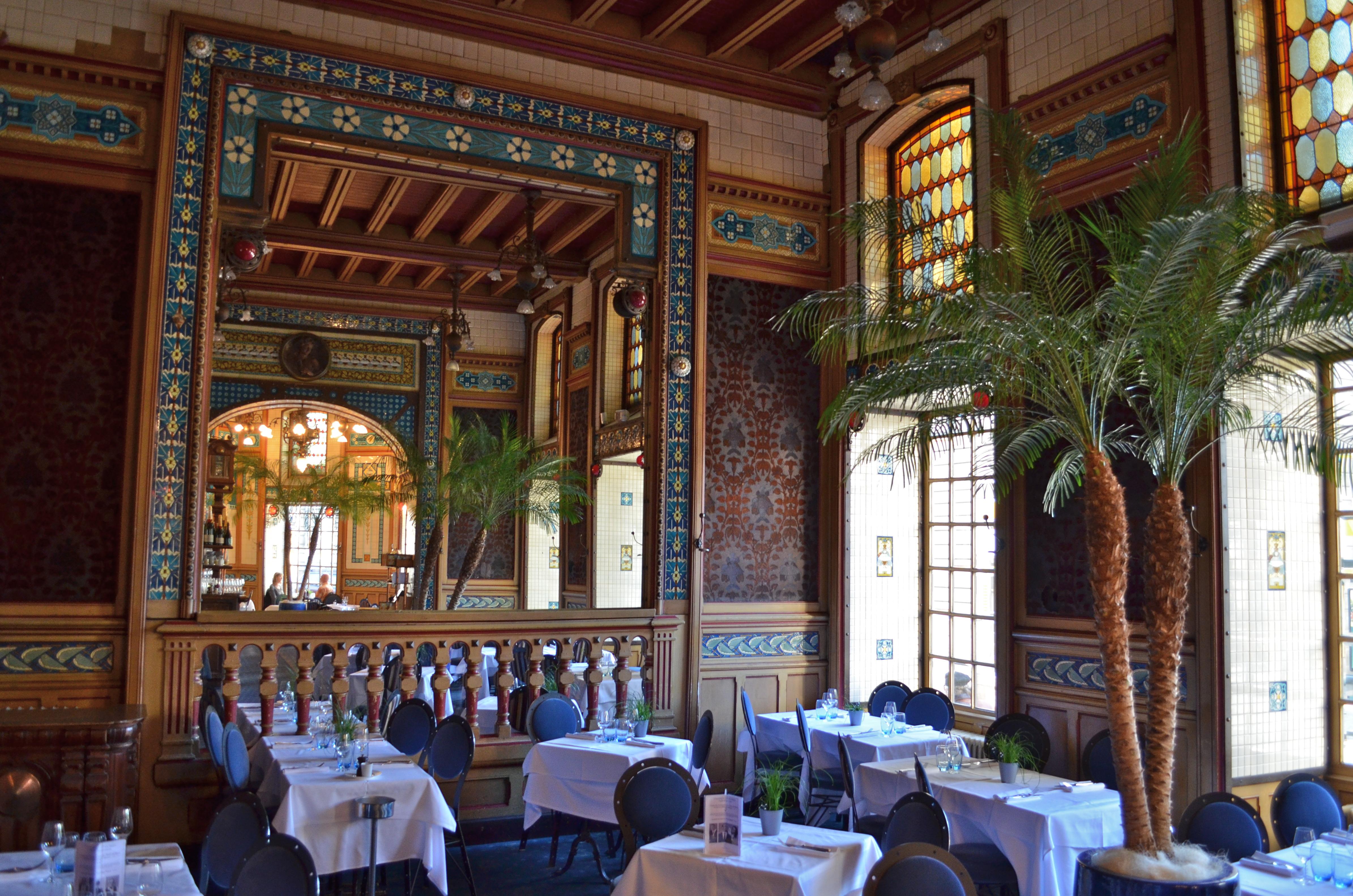 Fichier:Restaurant La Cigale - déco intérieure Art Nouveau (détail 7 ...