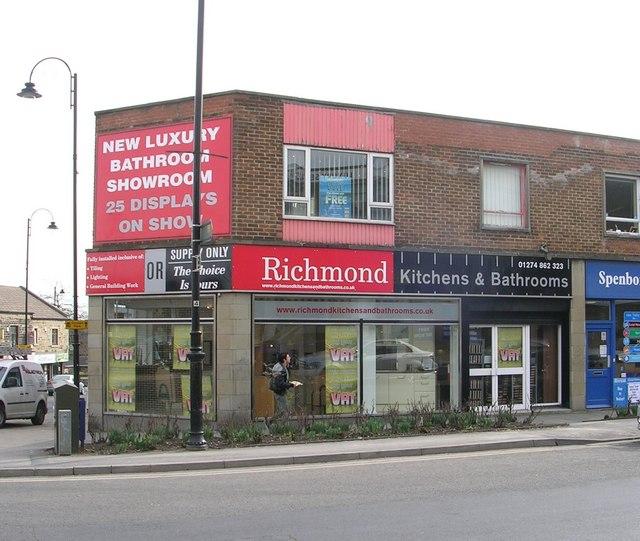 File:Richmond Kitchens And Bathrooms   Dewsbury Road   Geograph.org.uk