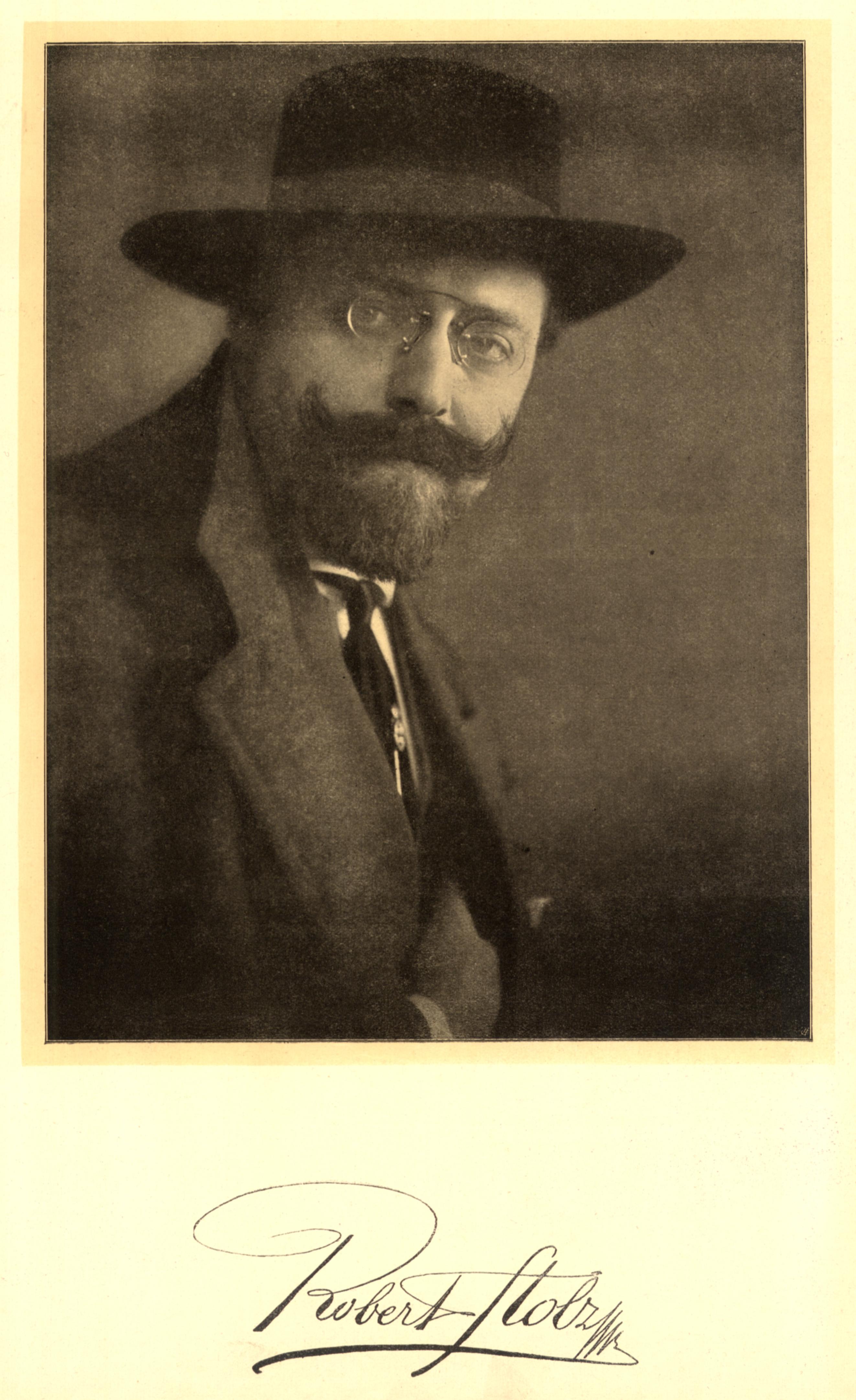 Robert Stolz in 1915