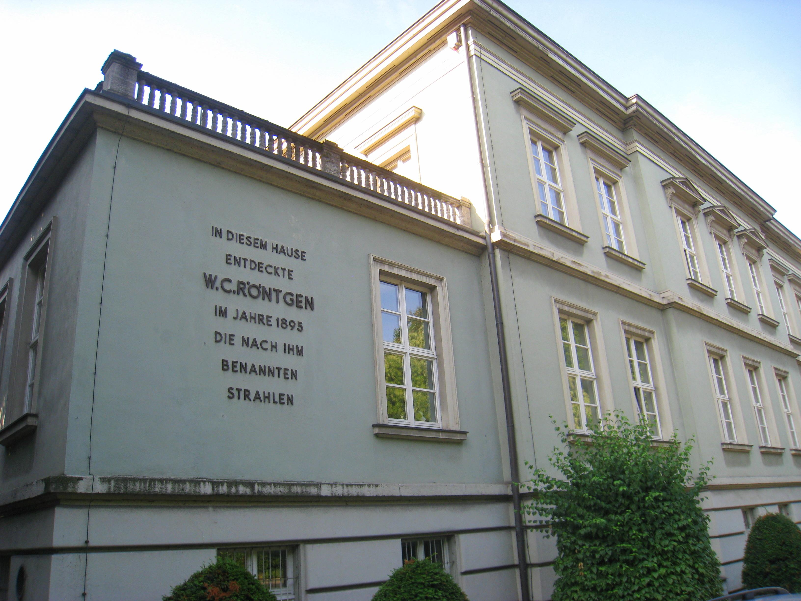 Wilhelm Conrad Röntgen – Wikipedia