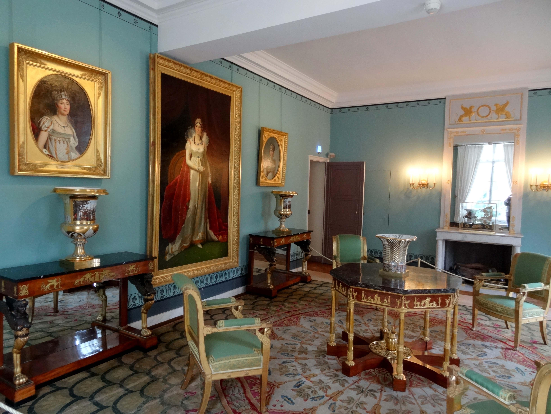 File Rueil Malmaison 92 château de Malmaison salon de l'Empereur 2