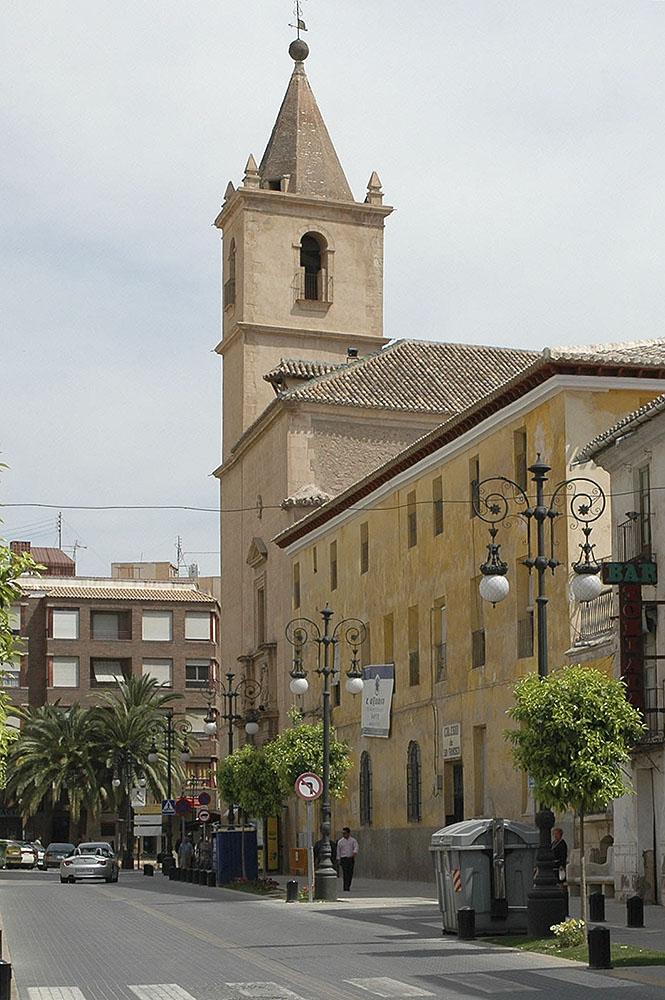 Iglesia de san francisco lorca wikipedia la - Lorca murcia fotos ...