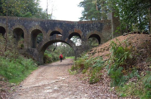 Seven-arched Bridge, Rivington - geograph.org.uk - 572424