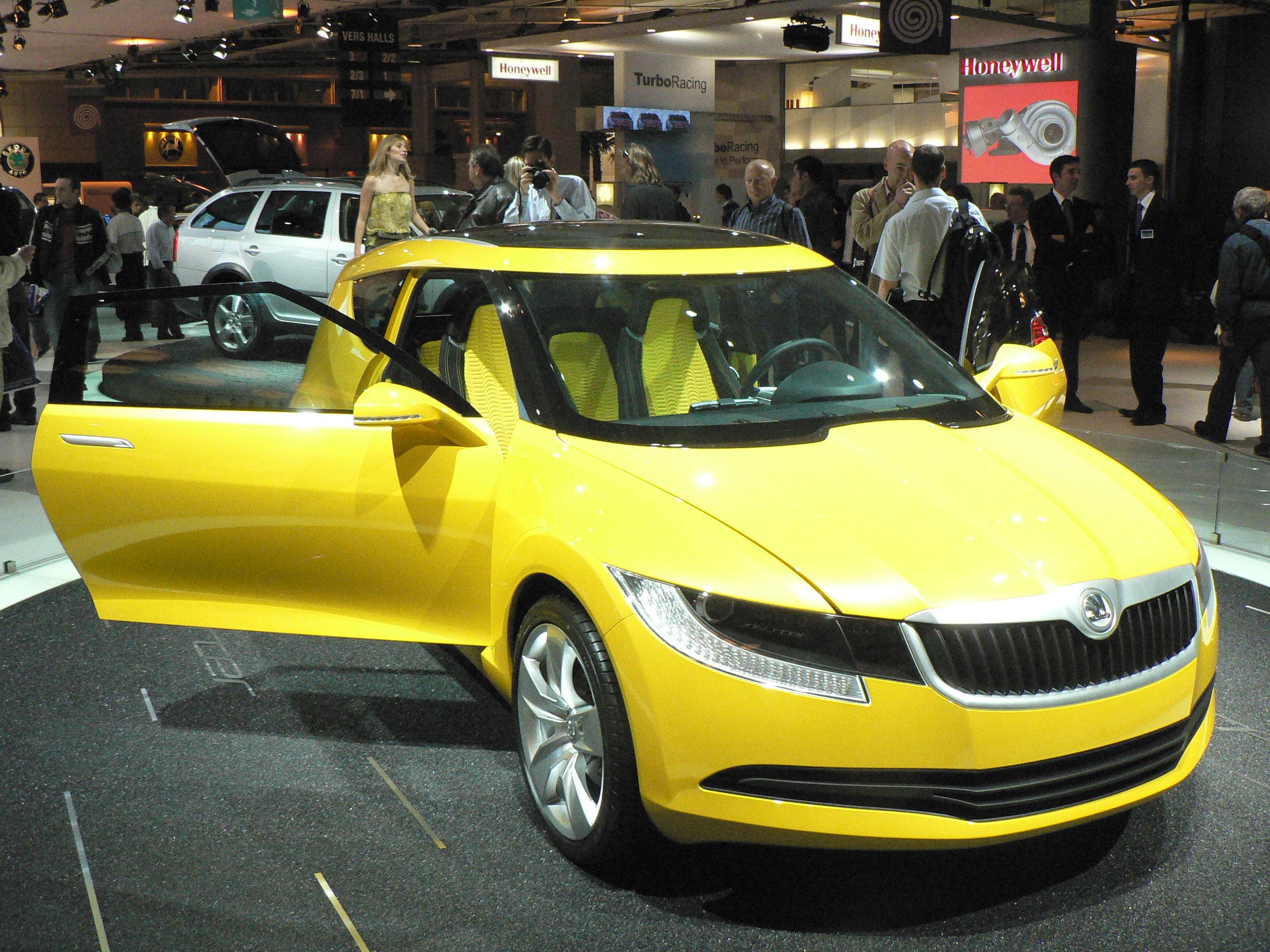 Skoda concept cars for Rab motors used cars
