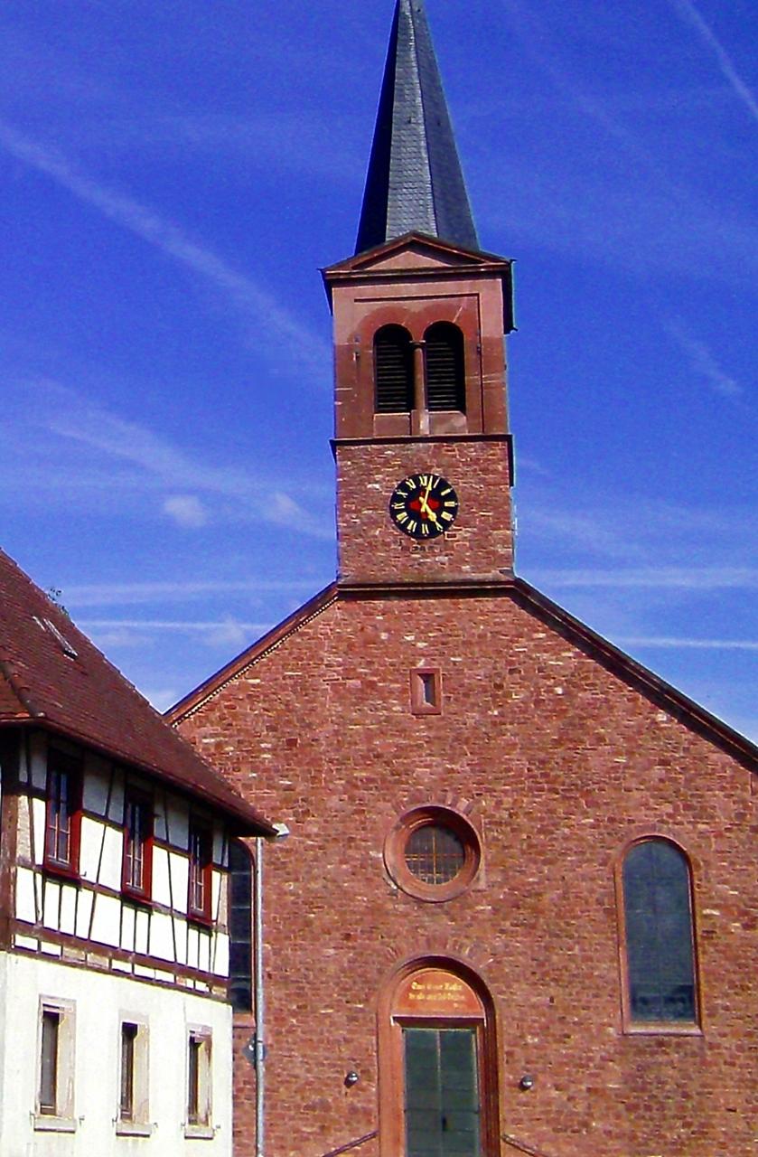 Zeitlos Würmersheim bickesheimer pilgerpfad hiking tour komoot