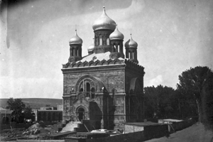 Saint Nikolai Russian Cathedral, destroyed in 1931.