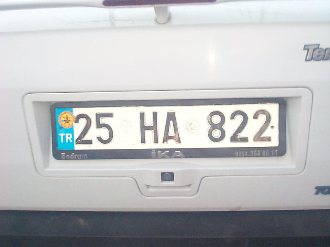 Автомобильные цвета по номерам