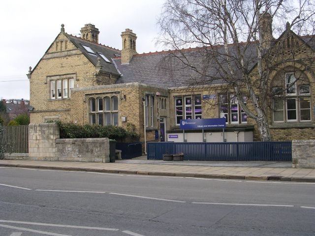 Tadcaster Library - Wikidata