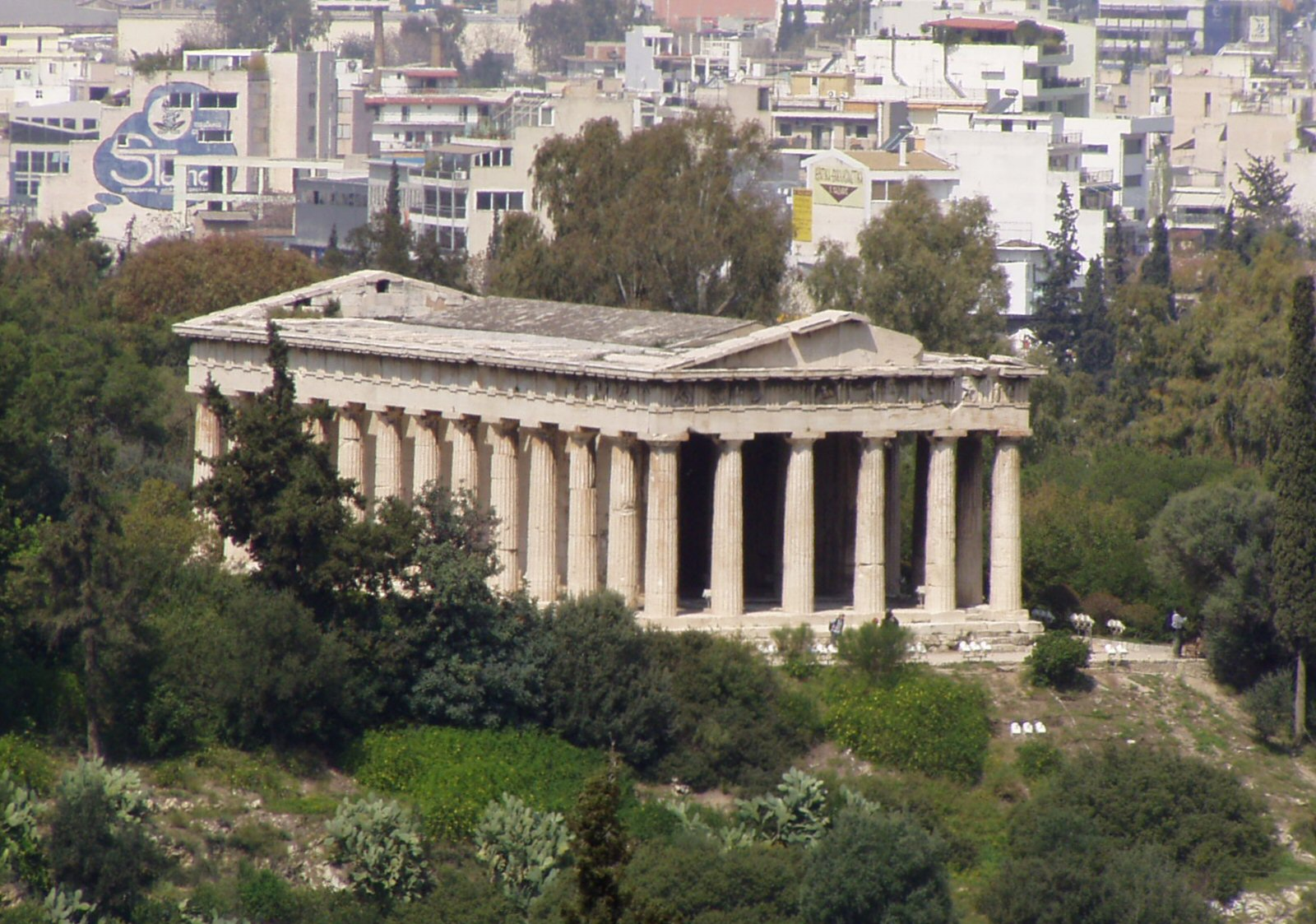 File:Temple of Hephaestus in Athens 2.jpg - Wikimedia Commons