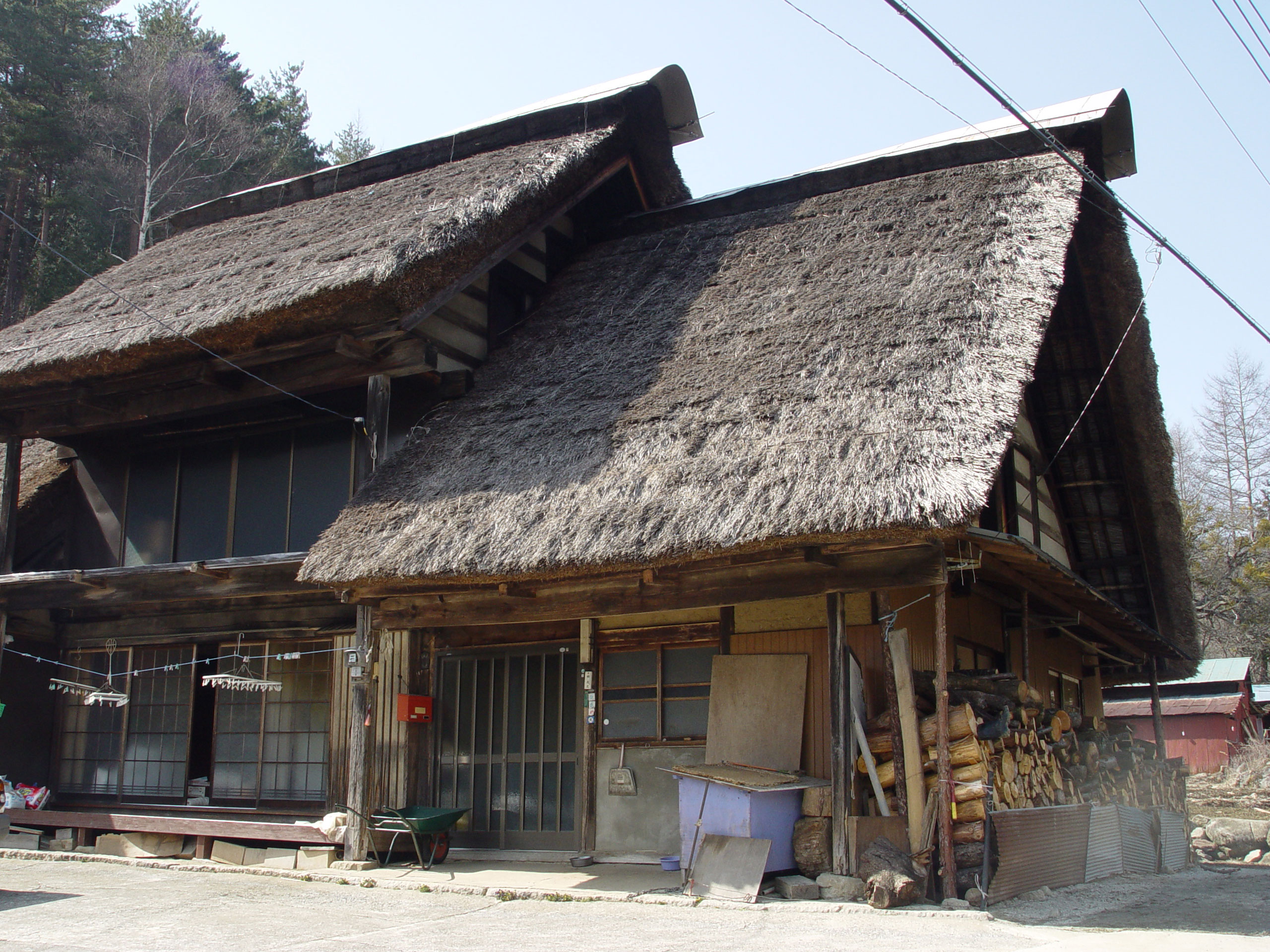 Traditional Japanese Home Floor Plan File Thatched Roof In Ichinose Enzan Yamanashi Jpg