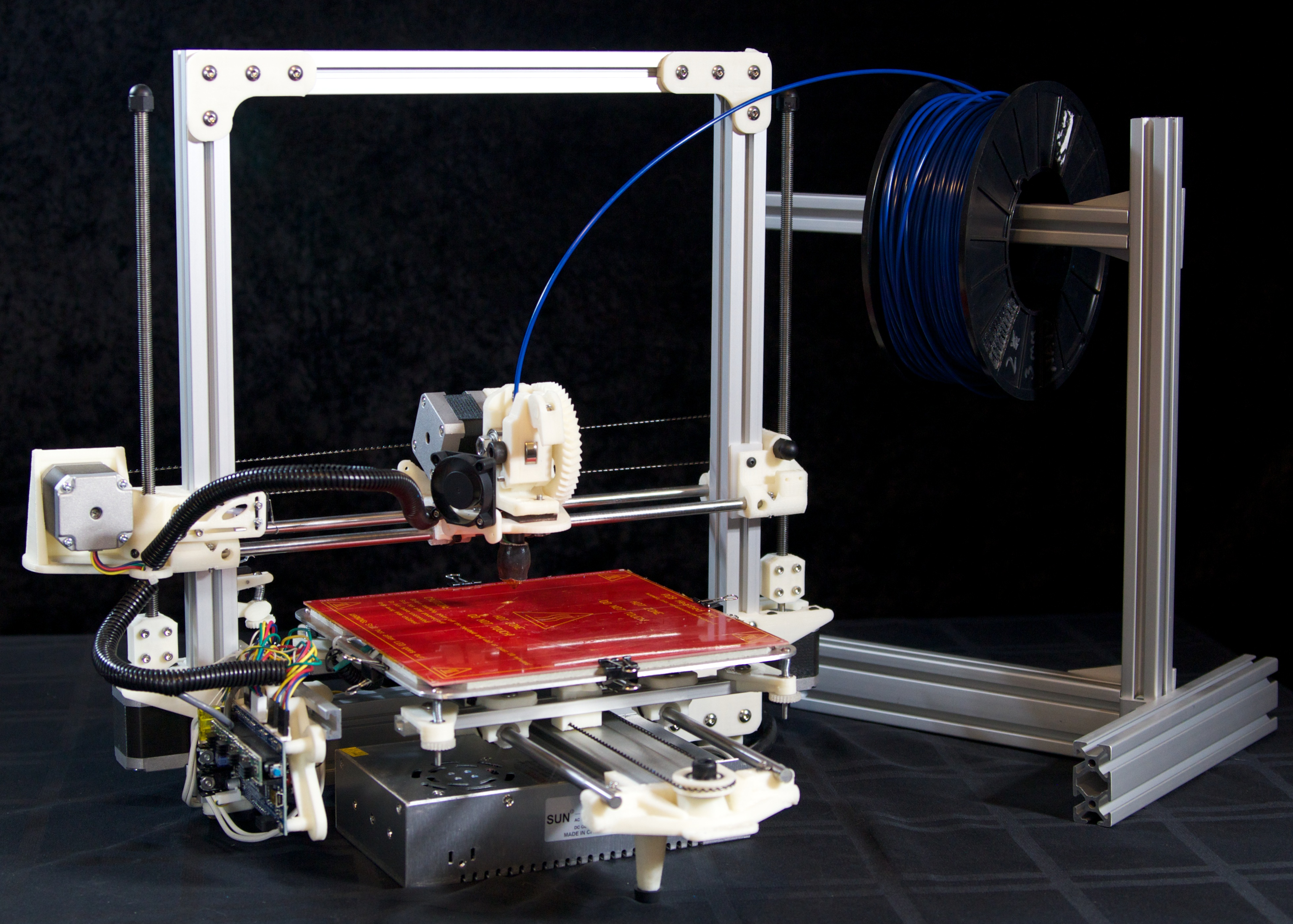 reprap project I am building a 3d printer as a tool for metal working and casting i plan to do lost pla/abs casting by using 3d prints as an investment for a negative mold.