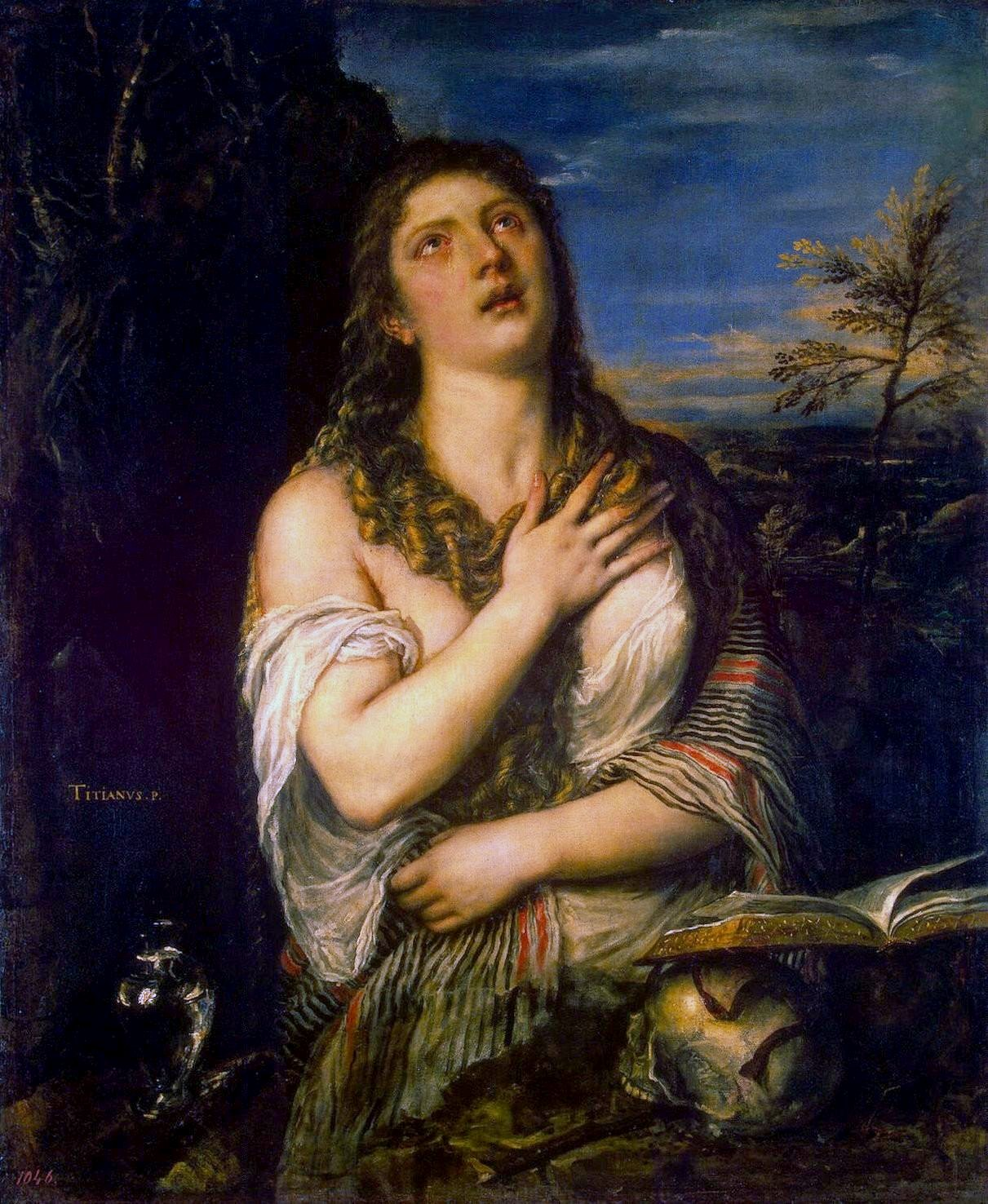 「Titian Mary Magdalene」の画像検索結果