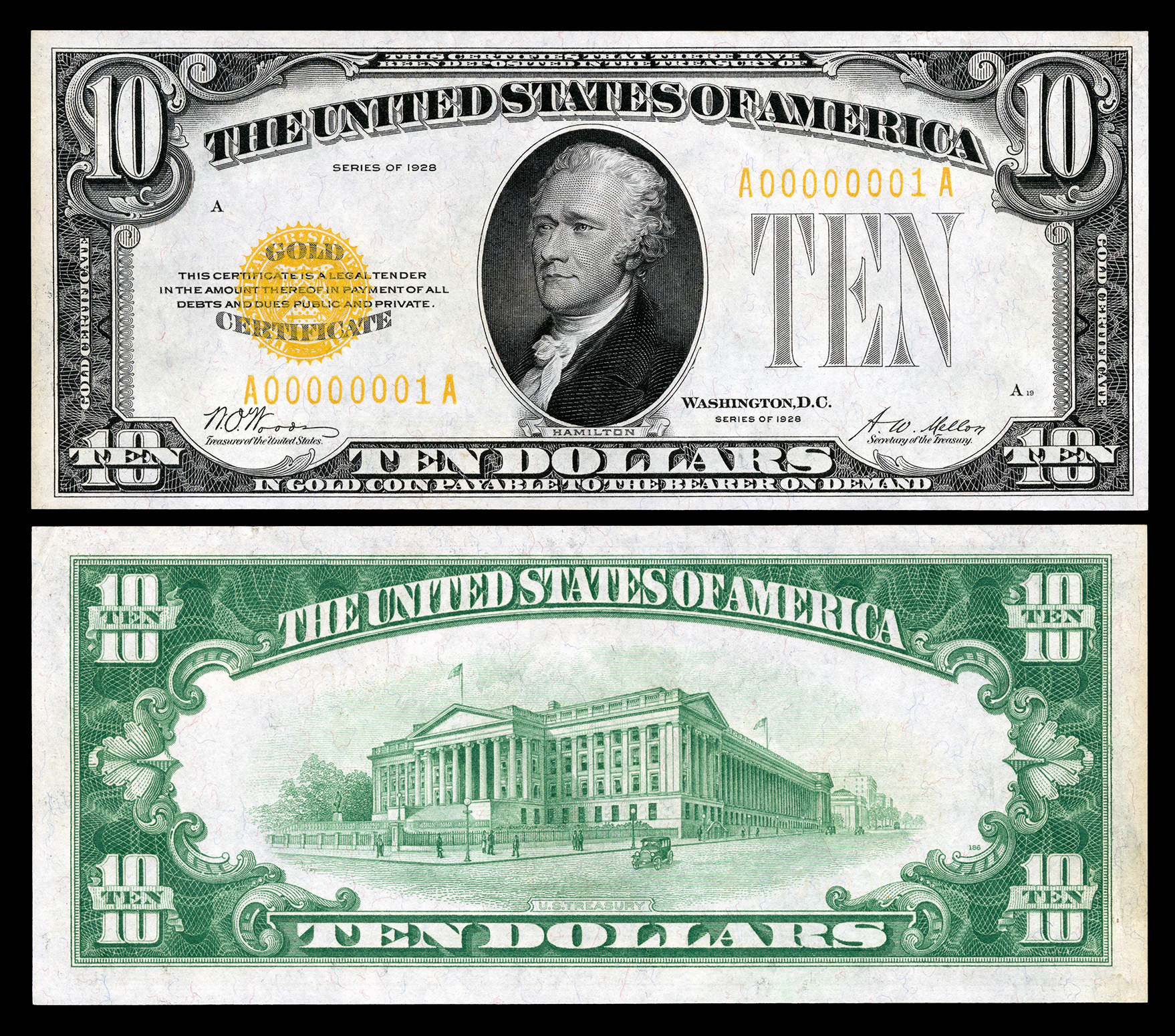 United States ten-dollar bill - Wikipedia