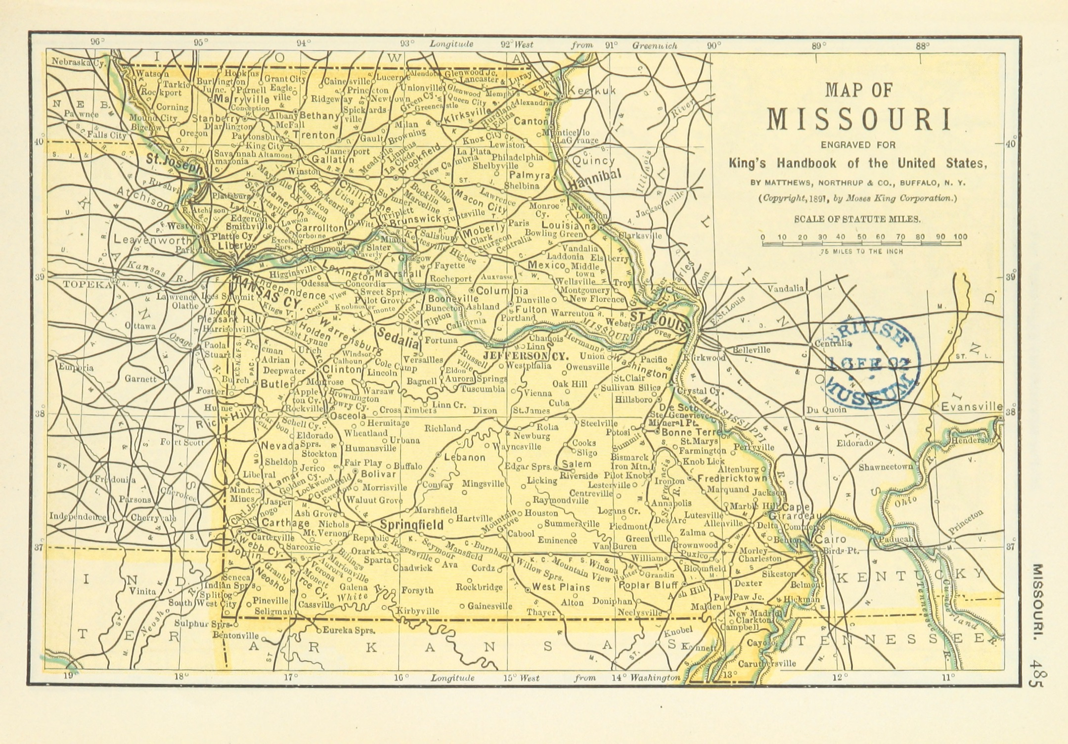 FileUSMAPS P MAP OF MISSOURIjpg Wikimedia Commons - Missouri on a us map