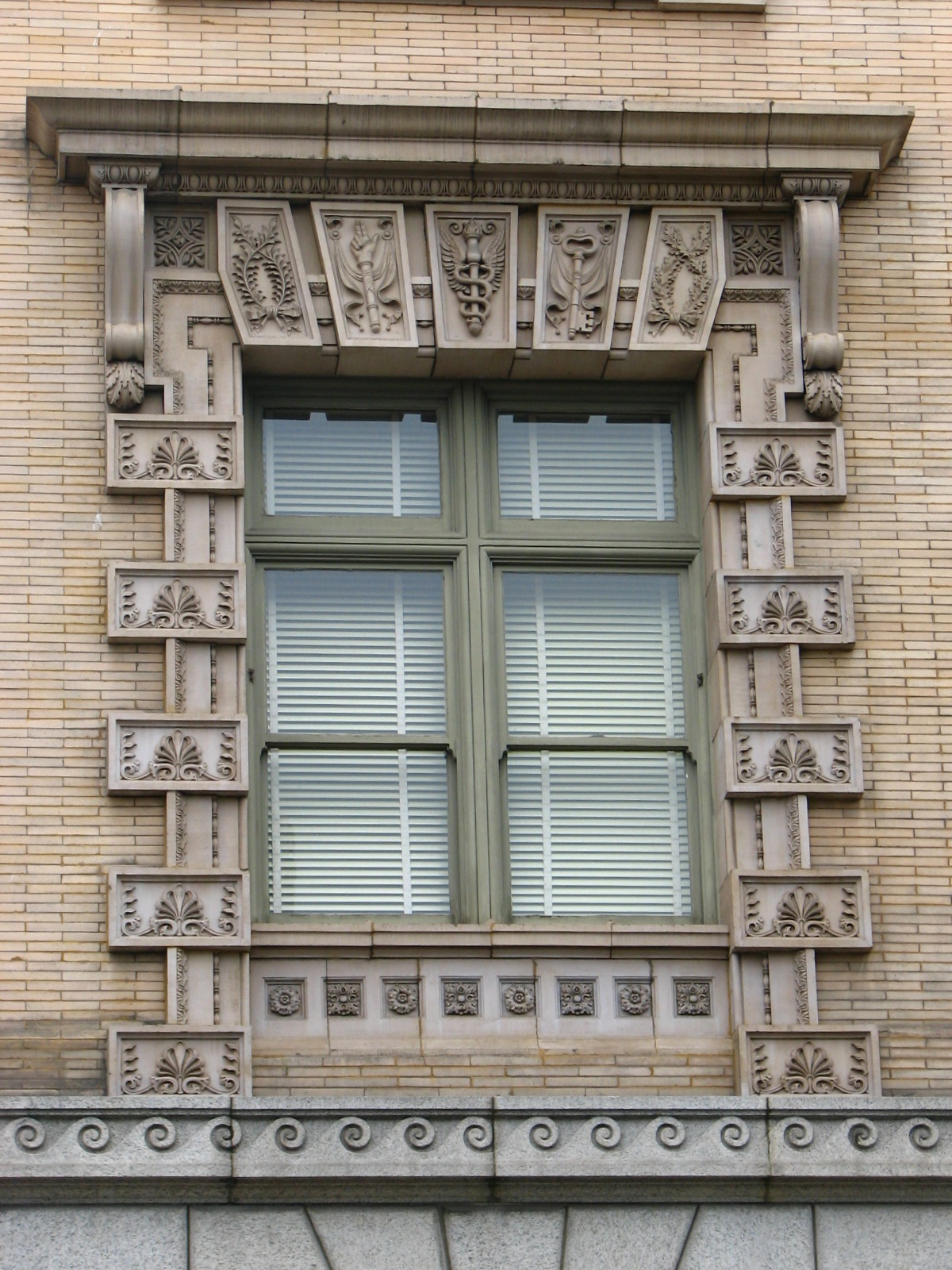 File us custom house window detail portland for Custom house windows