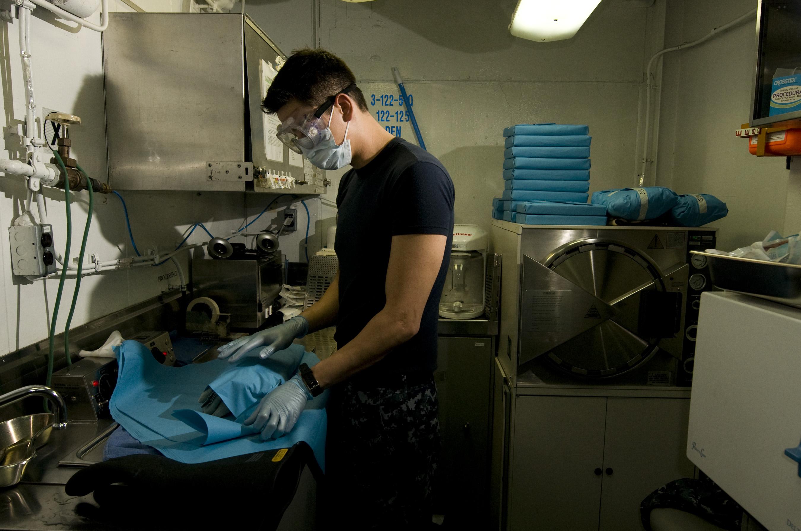 Dental Sterilization Room Design