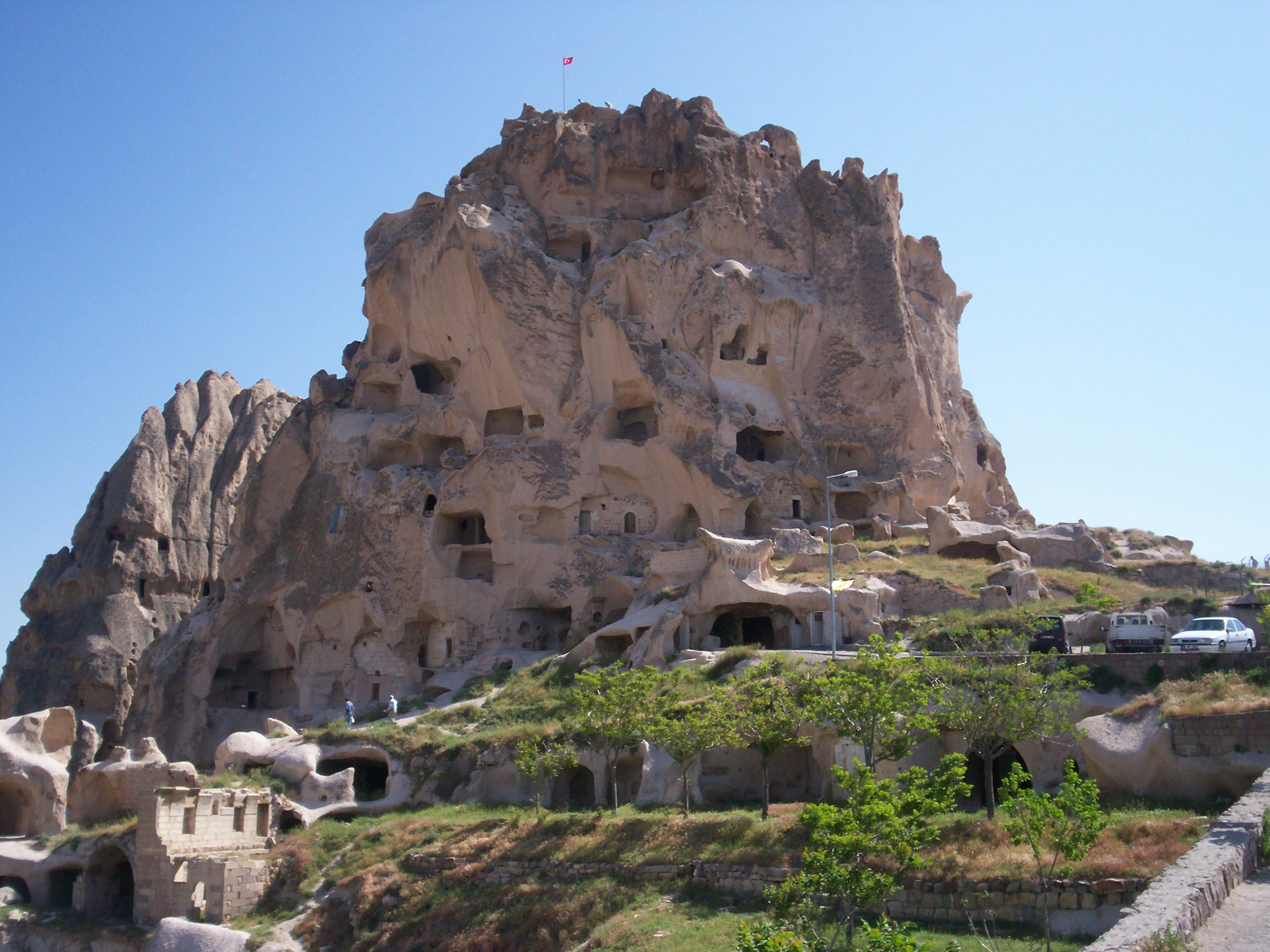 File Uchisar Castle  Nevsehir on nevsehir turkey