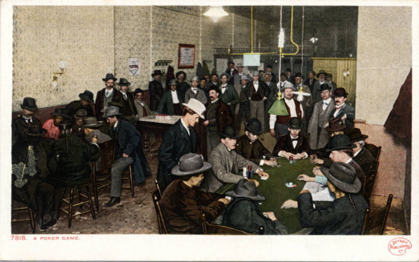 Unknown West - A Poker Game (NBY 432153).jpg English: Unknown West - A Poker Game Date Unknown date Unknown date Source https://collections