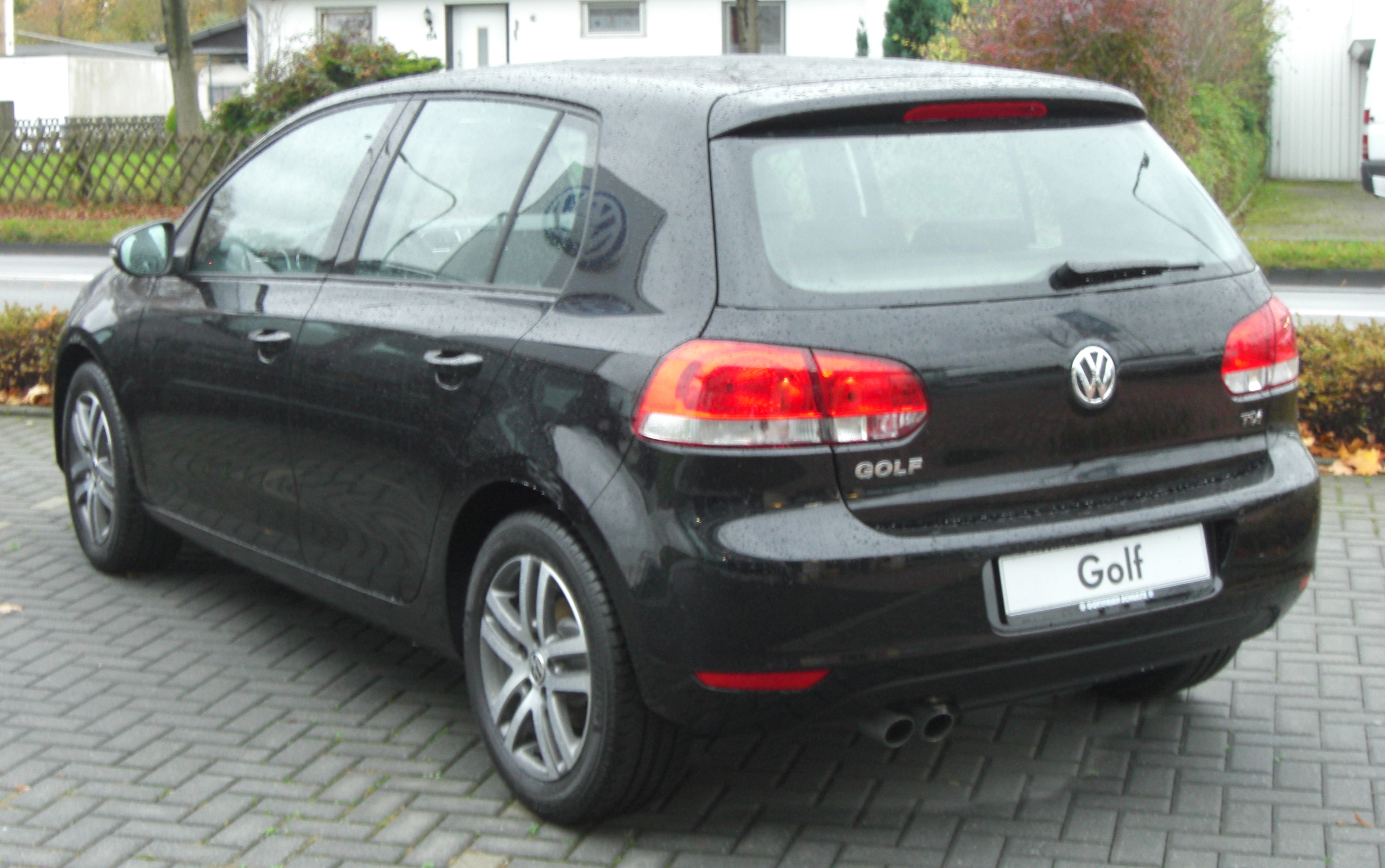 file vw golf vi tdi seit 2008 rear mj jpg. Black Bedroom Furniture Sets. Home Design Ideas